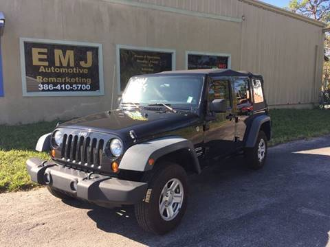 2011 Jeep Wrangler Unlimited for sale in New Smyrna Beach, FL