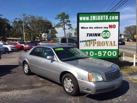 2004 Cadillac DeVille for sale in New Smyrna Beach, FL