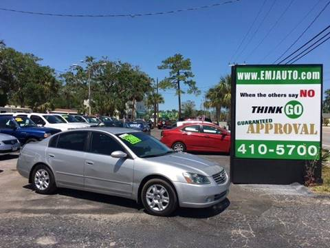 2005 Nissan Altima for sale at EMJ Automotive Remarketing in New Smyrna Beach FL