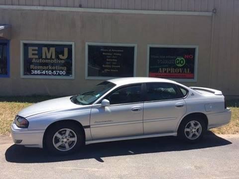 2004 Chevrolet Impala for sale at EMJ Automotive Remarketing in New Smyrna Beach FL