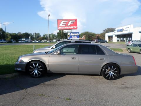 2006 Cadillac DTS for sale in Chesapeake, VA