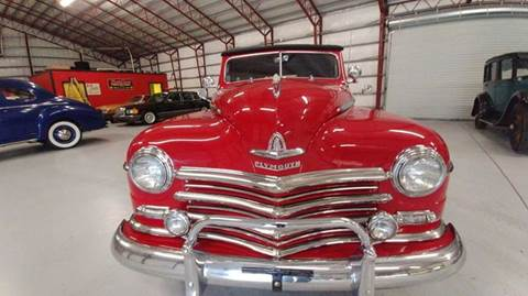 1947 Plymouth Deluxe for sale at Classic Car Barn in Williston FL