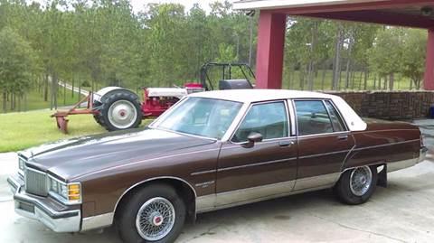 1981 Pontiac Bonneville for sale in Williston, FL
