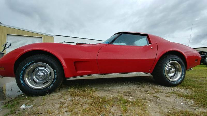 1977 Chevrolet Corvette for sale at Classic Car Barn in Williston FL