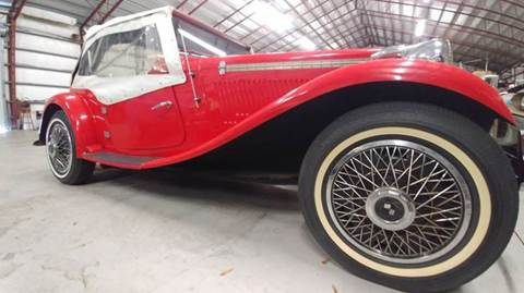 1951 MG TC for sale at Classic Car Barn in Williston FL