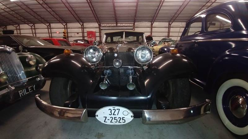 1934 Mercedes-Benz 540 k replica by heritage fact for sale at Classic Car Barn in Williston FL