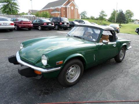 1976 Triumph Spitfire for sale at AUTOS OF EUROPE in Manchester MO