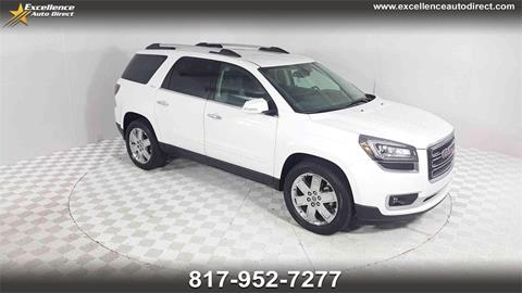 2017 GMC Acadia Limited for sale in Euless, TX
