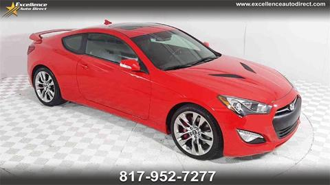 2016 Hyundai Genesis Coupe for sale in Euless, TX