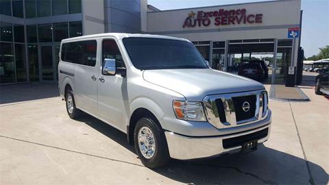 2017 Nissan NV Passenger for sale in Euless, TX