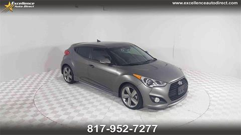 2015 Hyundai Veloster Turbo for sale in Euless, TX
