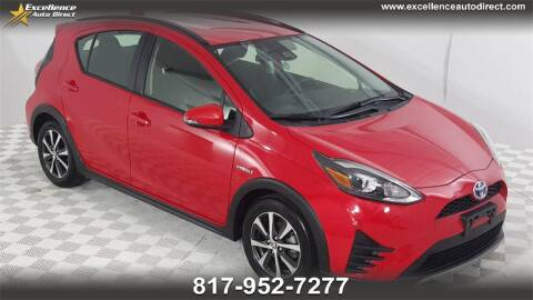 2018 Toyota Prius c for sale at Excellence Auto Direct in Euless TX
