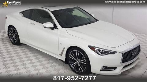 2020 Infiniti Q60 for sale at Excellence Auto Direct in Euless TX