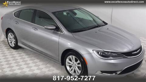 2016 Chrysler 200 for sale at Excellence Auto Direct in Euless TX