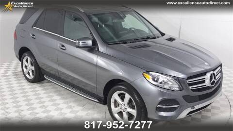 2017 Mercedes-Benz GLE for sale at Excellence Auto Direct in Euless TX