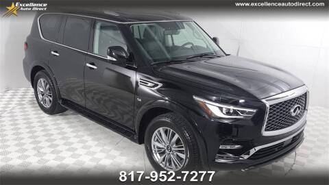 2018 Infiniti QX80 for sale at Excellence Auto Direct in Euless TX