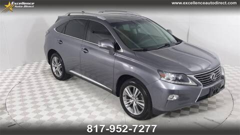 2015 Lexus RX 350 for sale at Excellence Auto Direct in Euless TX