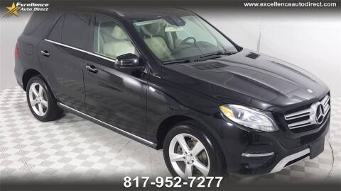 2016 Mercedes-Benz GLE for sale at Excellence Auto Direct in Euless TX