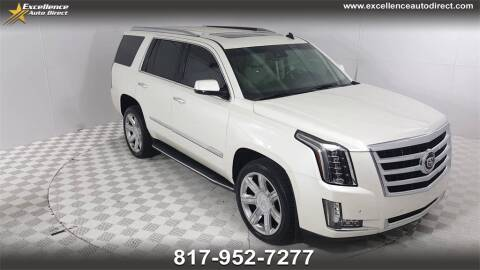2015 Cadillac Escalade for sale at Excellence Auto Direct in Euless TX