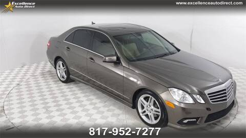 2011 Mercedes-Benz E-Class for sale at Excellence Auto Direct in Euless TX
