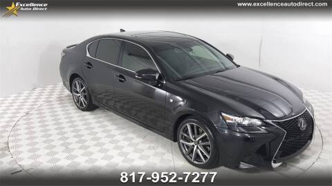 2017 Lexus GS 350 for sale at Excellence Auto Direct in Euless TX