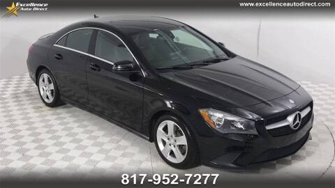 2015 Mercedes-Benz CLA for sale at Excellence Auto Direct in Euless TX