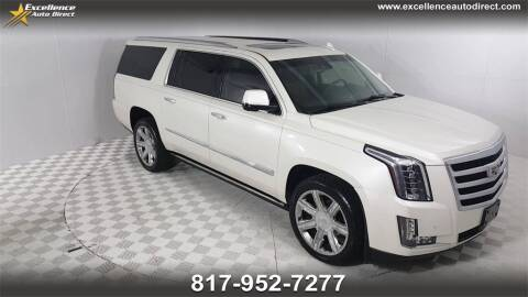 2015 Cadillac Escalade ESV for sale at Excellence Auto Direct in Euless TX