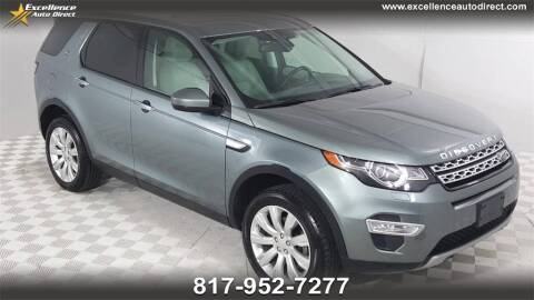 2016 Land Rover Discovery Sport for sale at Excellence Auto Direct in Euless TX