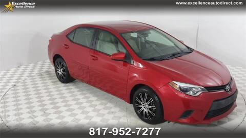 2014 Toyota Corolla for sale at Excellence Auto Direct in Euless TX
