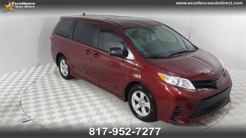 2019 Toyota Sienna for sale at Excellence Auto Direct in Euless TX