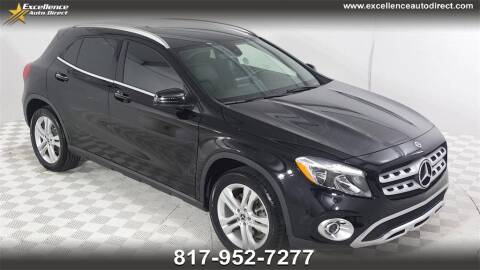 2020 Mercedes-Benz GLA for sale at Excellence Auto Direct in Euless TX