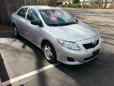 2009 Toyota Corolla for sale at Suburban Auto Technicians LLC in Walpole MA
