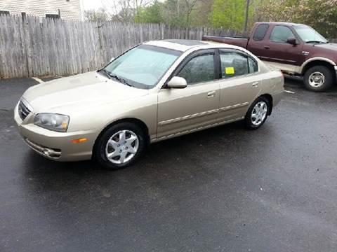 2006 Hyundai Elantra for sale at Suburban Auto Technicians LLC in Walpole MA
