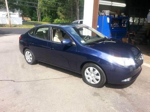 2008 Hyundai Elantra for sale at Suburban Auto Technicians LLC in Walpole MA