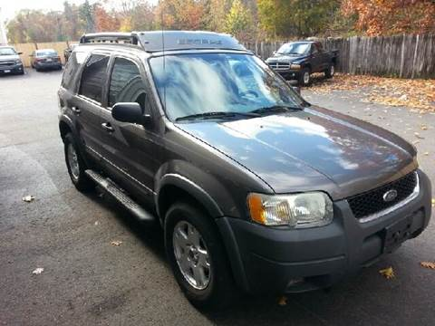2003 Ford Escape for sale at Suburban Auto Technicians LLC in Walpole MA