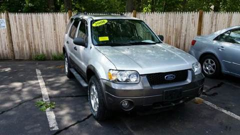 2006 Ford Escape for sale at Suburban Auto Technicians LLC in Walpole MA