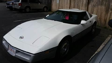 1986 Chevrolet Corvette for sale at Suburban Auto Technicians in Walpole MA