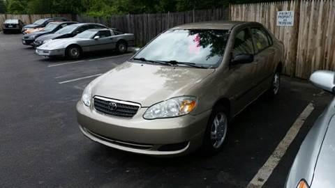 2007 Toyota Corolla for sale at Suburban Auto Technicians LLC in Walpole MA