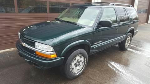 2002 Chevrolet Blazer for sale at Suburban Auto Technicians in Walpole MA
