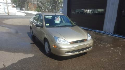2001 Ford Focus for sale at Suburban Auto Technicians in Walpole MA