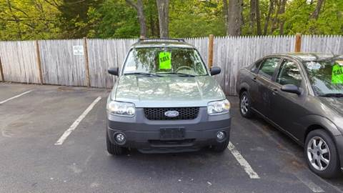 2005 Ford Escape for sale at Suburban Auto Technicians LLC in Walpole MA