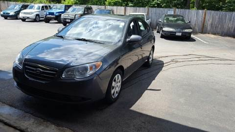 2007 Hyundai Elantra for sale at Suburban Auto Technicians LLC in Walpole MA