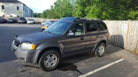 2003 Ford Escape for sale at Suburban Auto Technicians LLC in Walpole MA