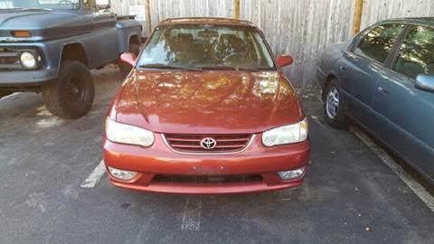 2001 Toyota Corolla for sale at Suburban Auto Technicians in Walpole MA