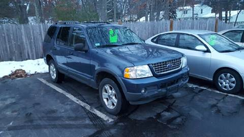 2003 Ford Explorer for sale at Suburban Auto Technicians in Walpole MA