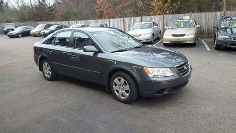2009 Hyundai Sonata for sale at Suburban Auto Technicians in Walpole MA