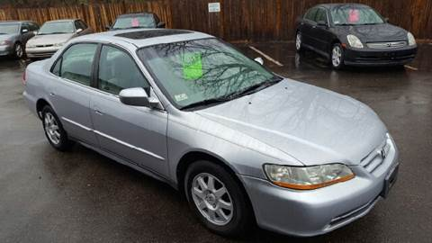 2002 Honda Accord for sale at Suburban Auto Technicians LLC in Walpole MA