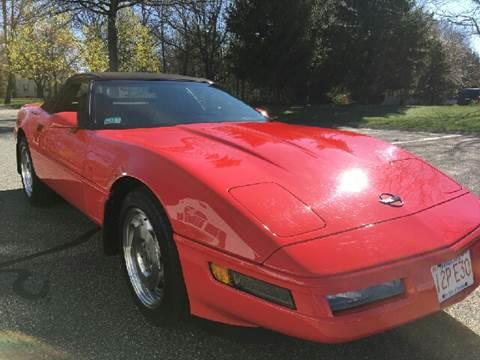 1996 Chevrolet Corvette for sale at Suburban Auto Technicians in Walpole MA