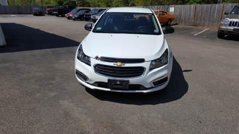 2016 Chevrolet Cruze Limited for sale at Suburban Auto Technicians LLC in Walpole MA