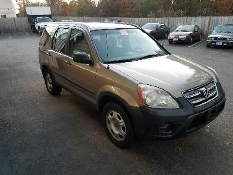 2005 Honda CR-V for sale at Suburban Auto Technicians LLC in Walpole MA